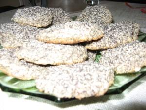 mákos kókuszos keksz
